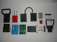 SBE 320 - přístrojová  zástrčka bez madla - 70 mm²  (modrá) SBE 320